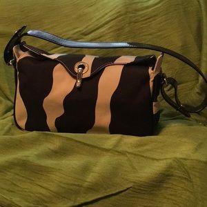 KATE SPADE Handbag w/patent leather strap